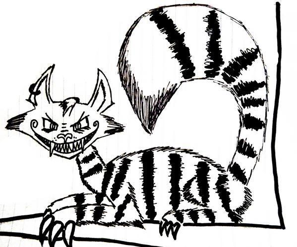 Demonic Chesire Cat