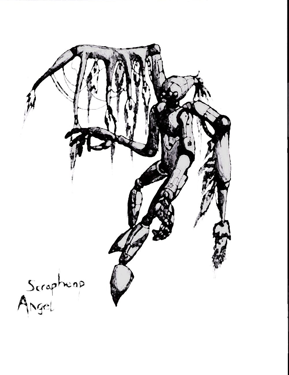 Scrapheap angel