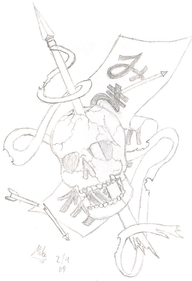 Skull Spear