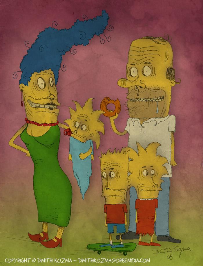 Simpsons Freaky