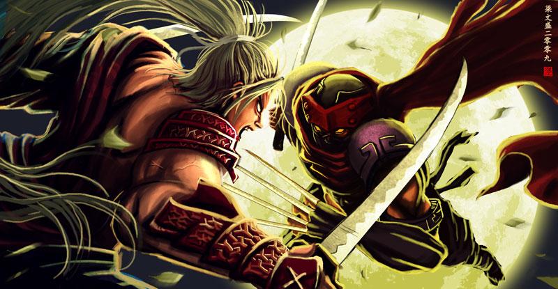 Kagemusha duell