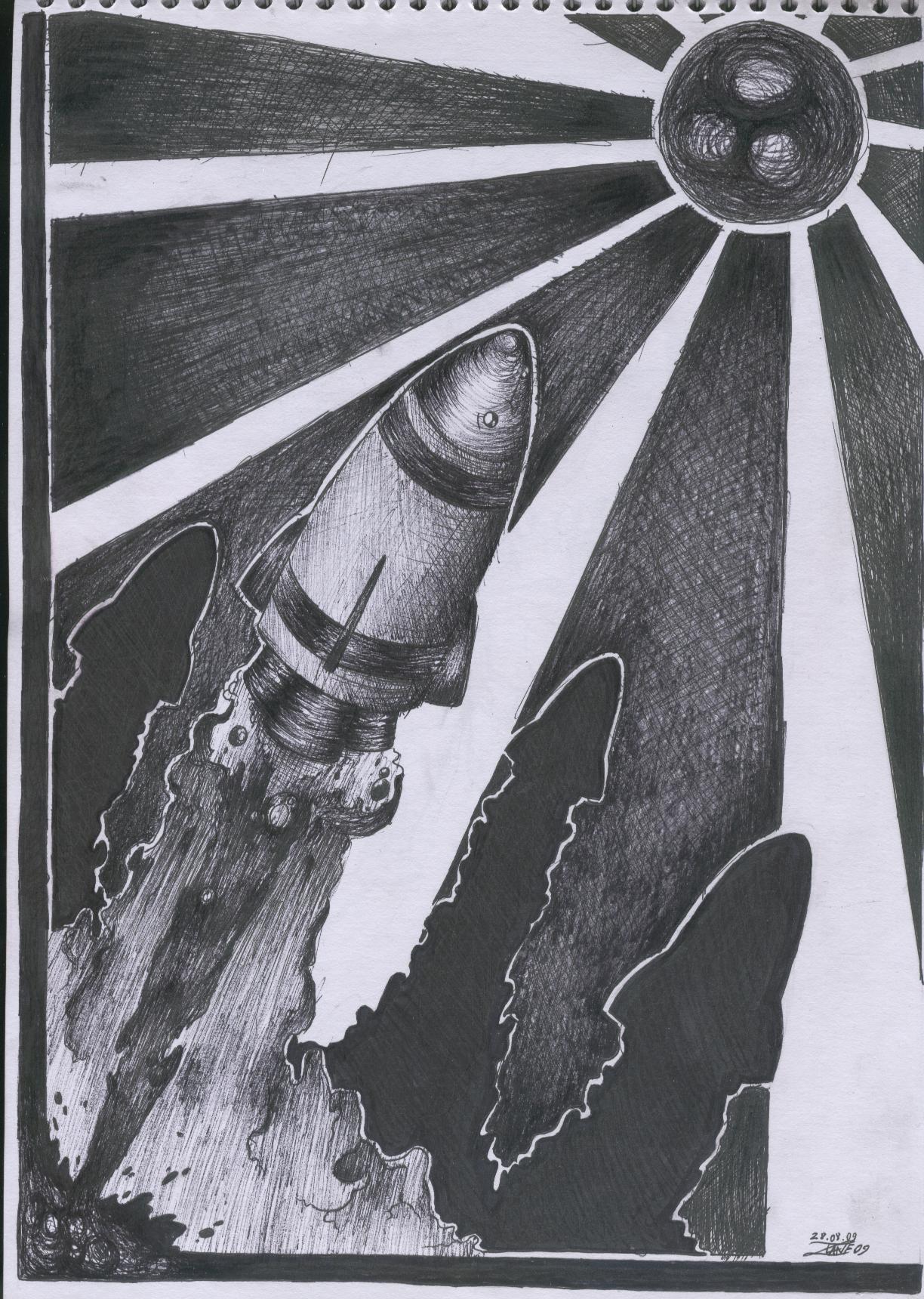 Sketchbook Rocket