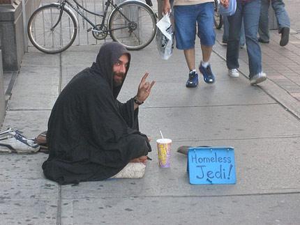 Homeless Jedi