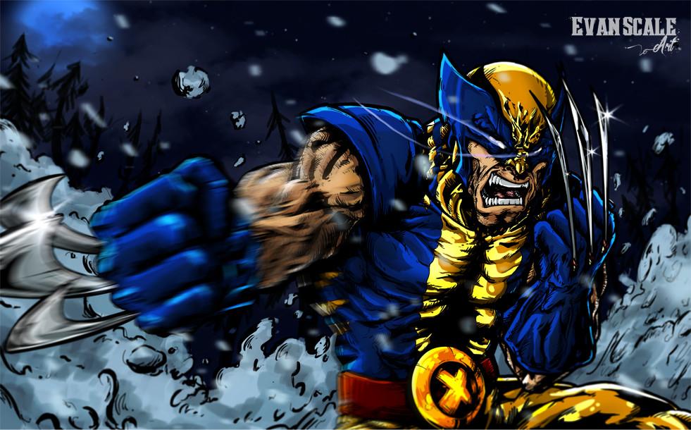Primitive Instinct (Wolverine Fan-Art)