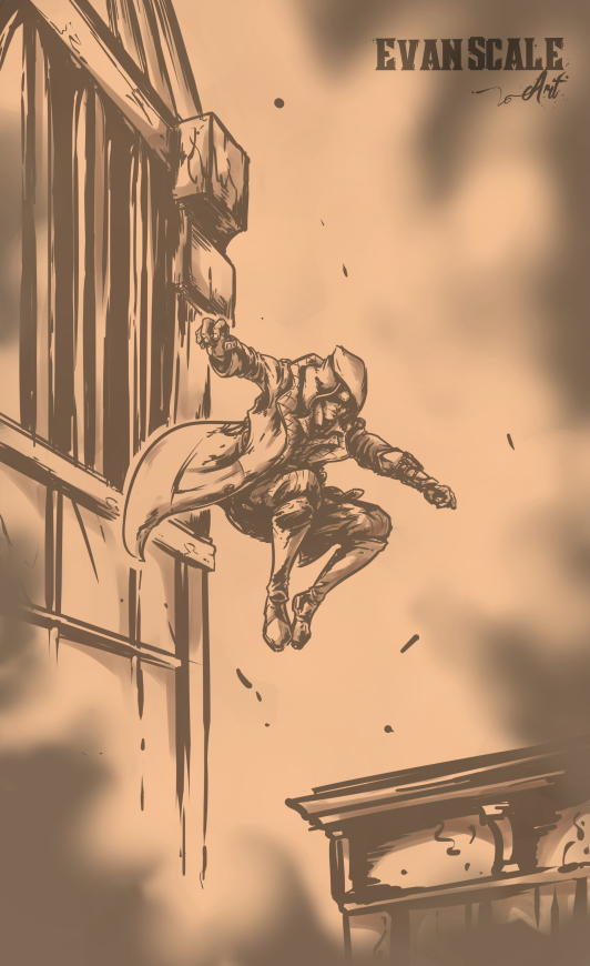 Leap - Assassin's Creed (Assassin's Creed Fan-Art)