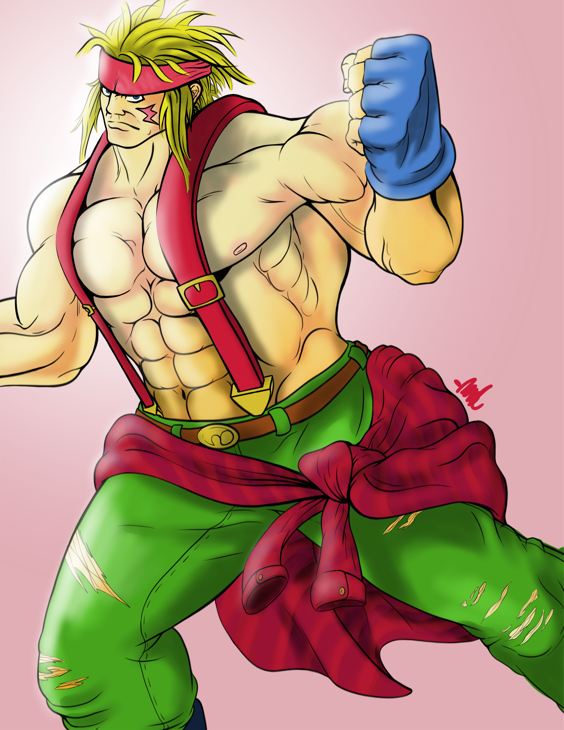 Alex Street Fighter By Dooffrie On Newgrounds
