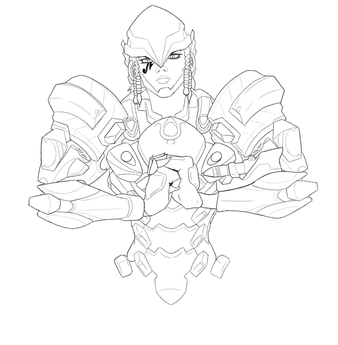Overwatch Sign Coloring Pages