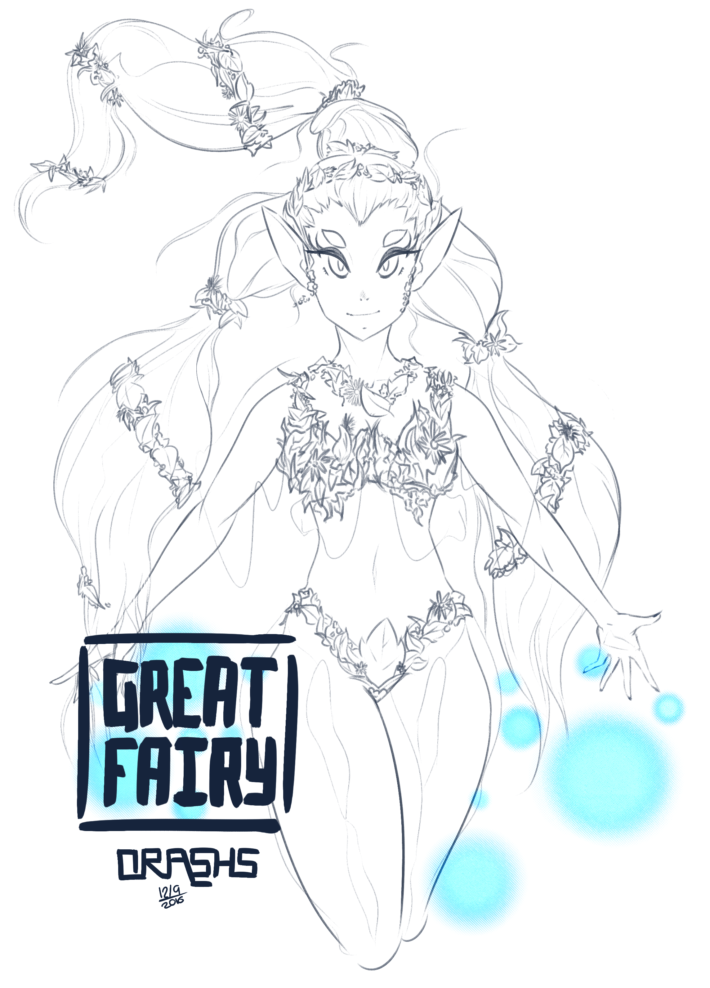 Great Fairy WIP