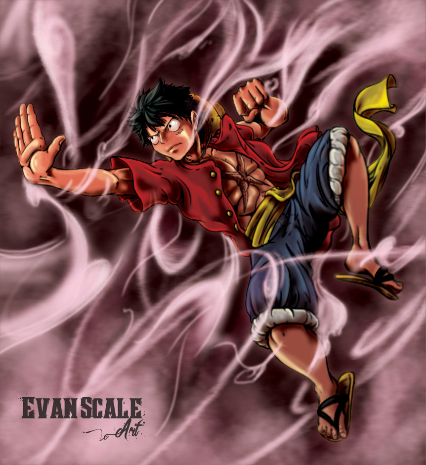 Gear 2nd - One Piece Fan-Art