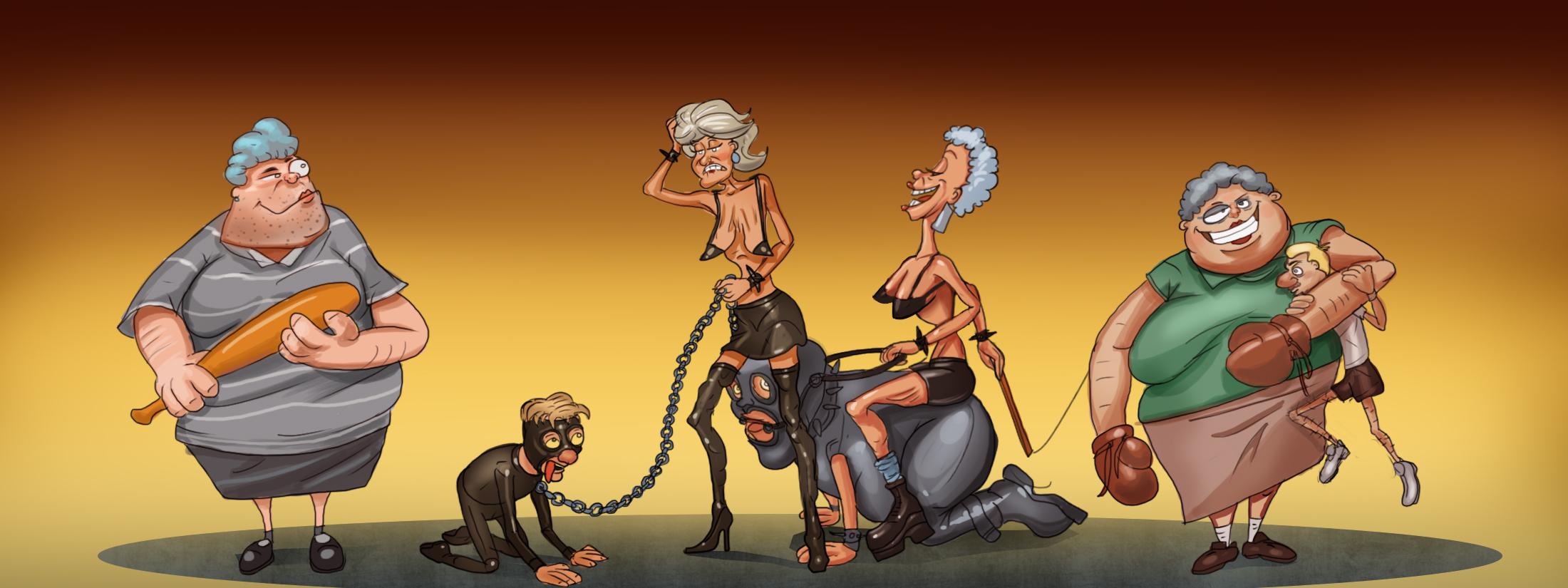Grannies in action