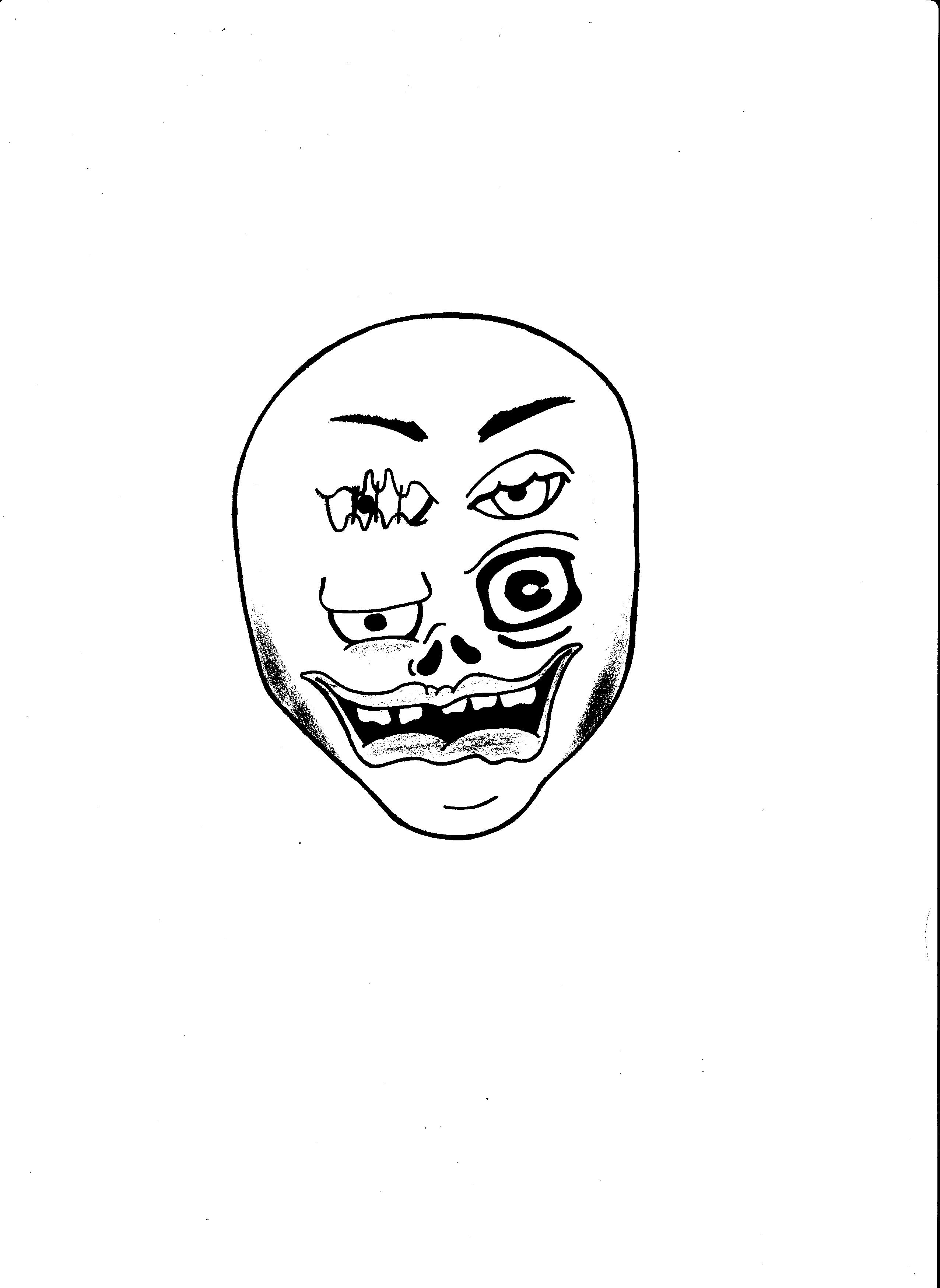 Head full of joy