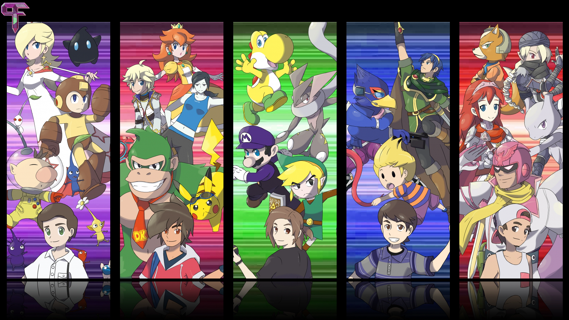Fighting Polygon Team Crew Banner