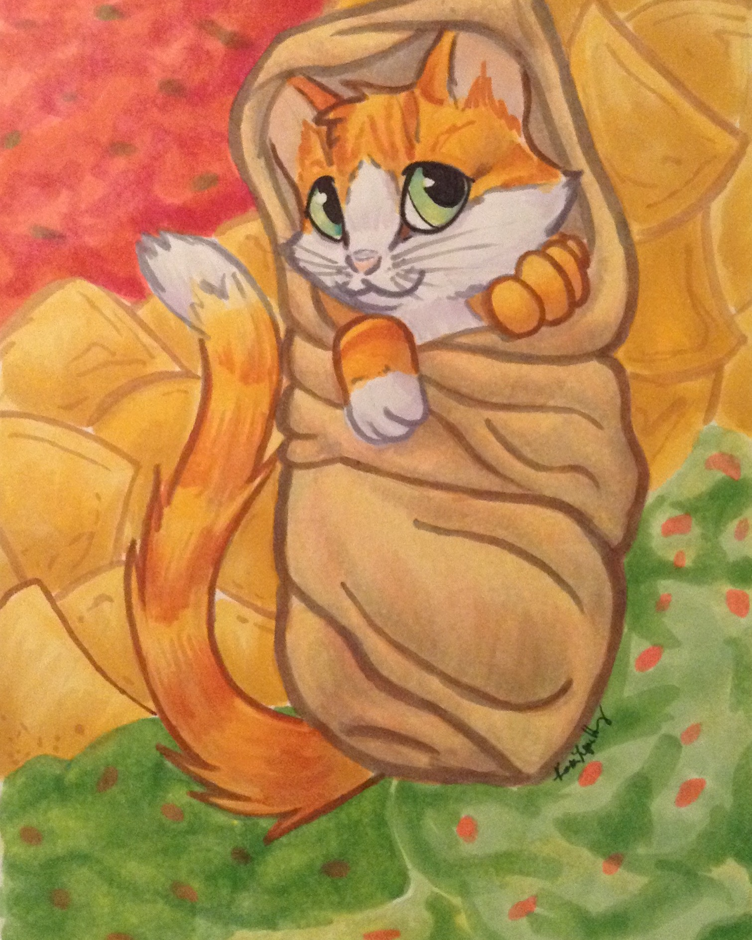 Burrito Kitten