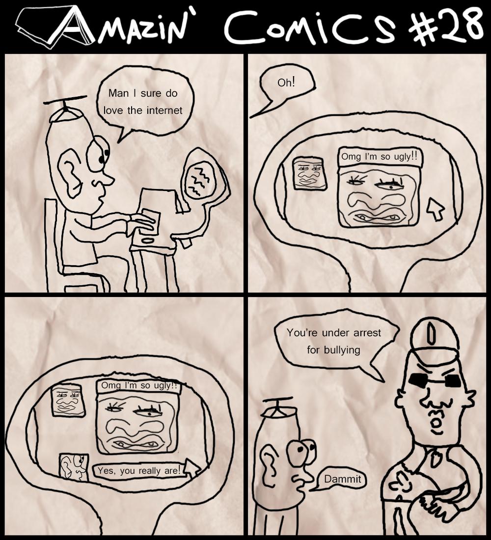 Amazin' Comics #28