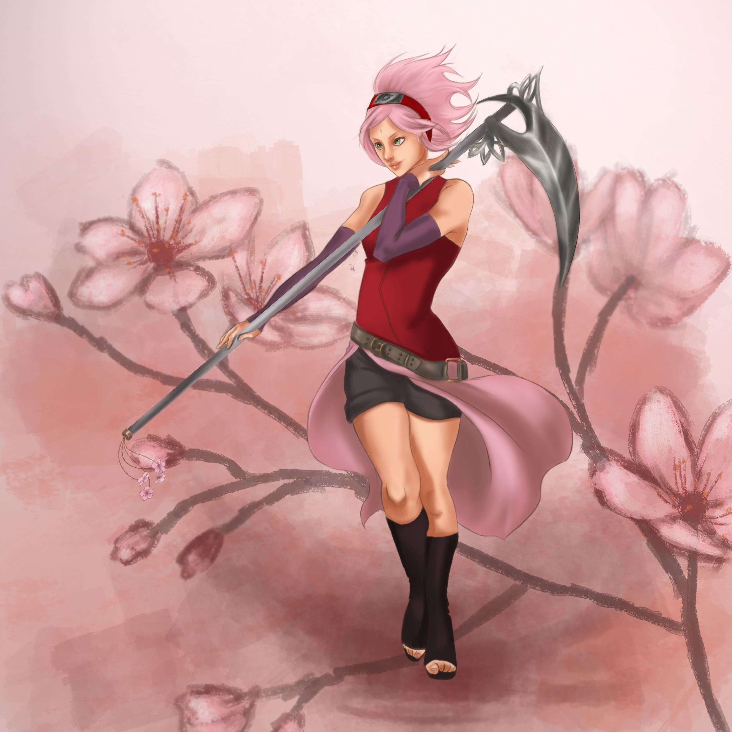 Sakura again.