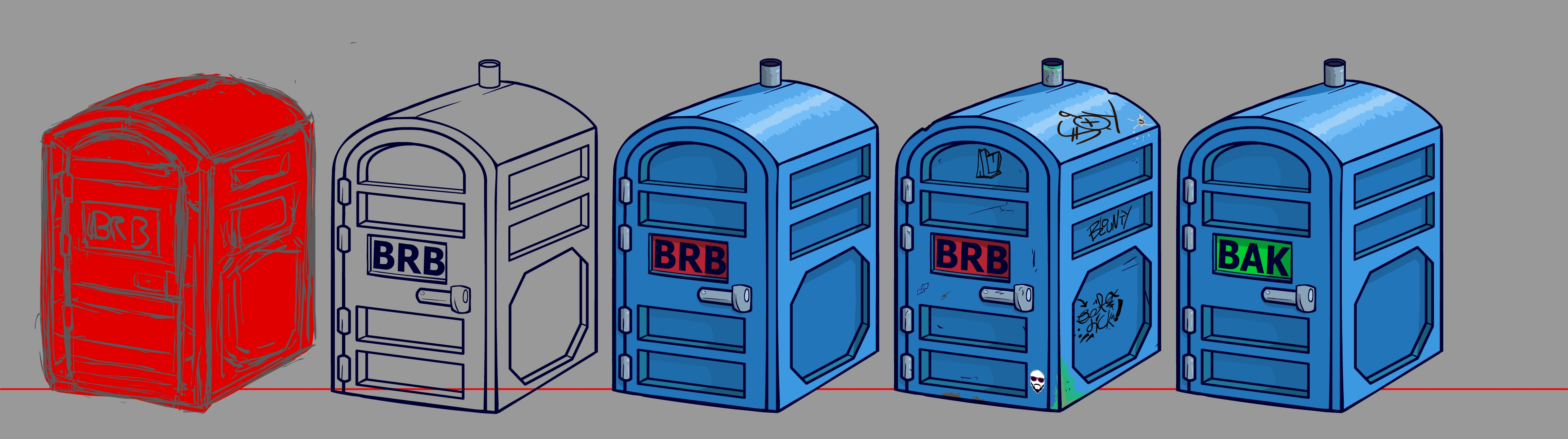 Prop Design - Portapotty
