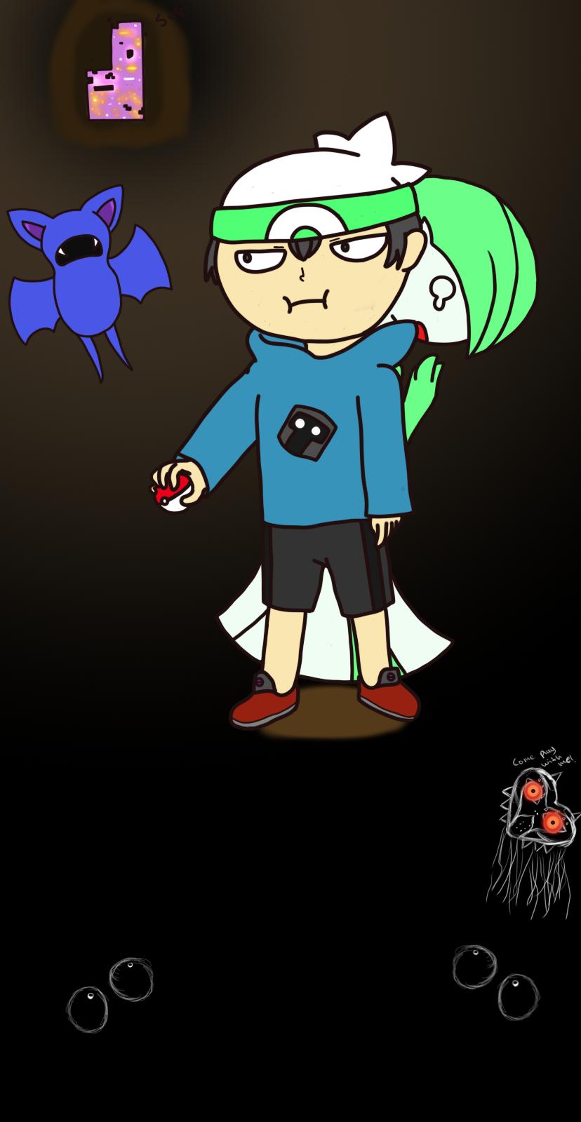 I play pokemon