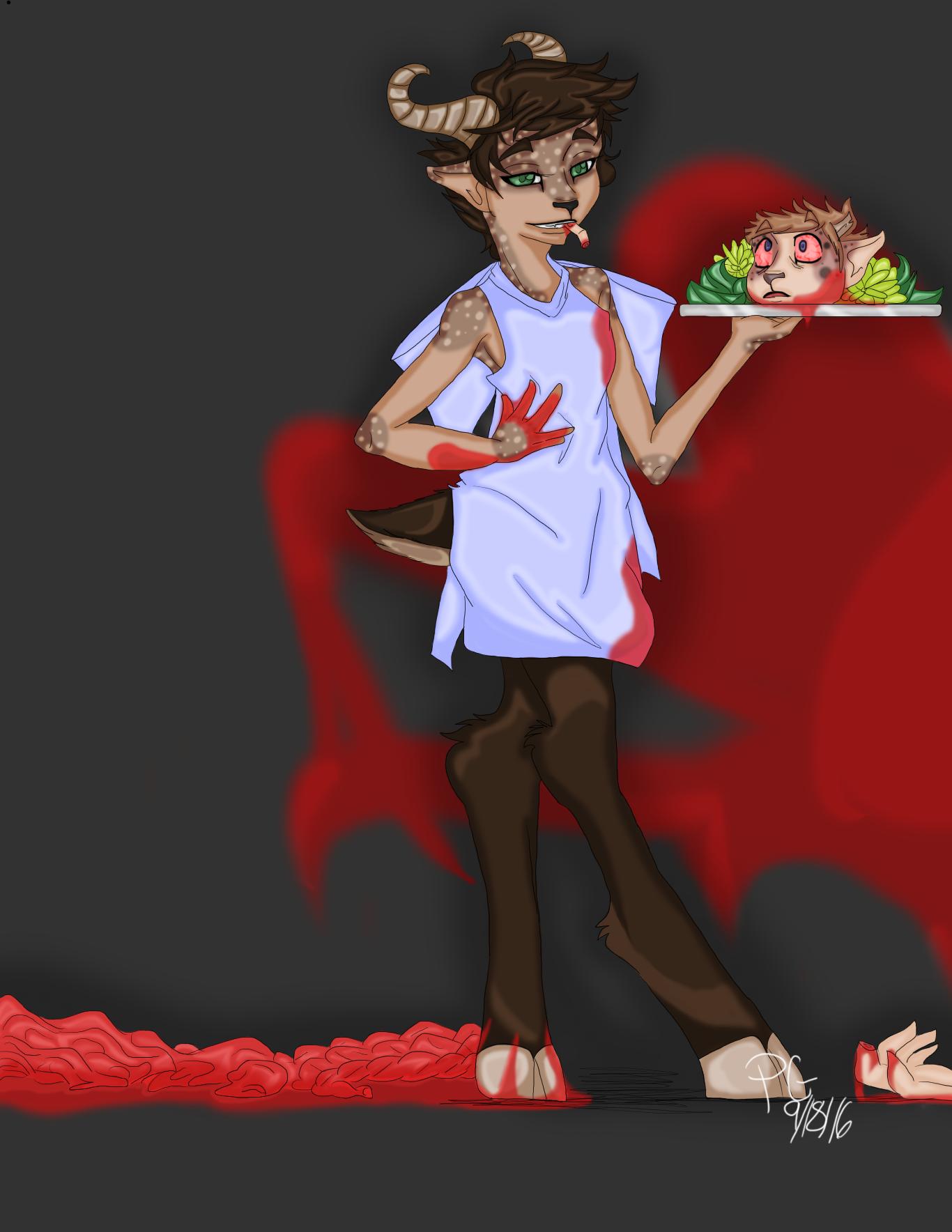 Gore Demise - Chestnutt the cannibal