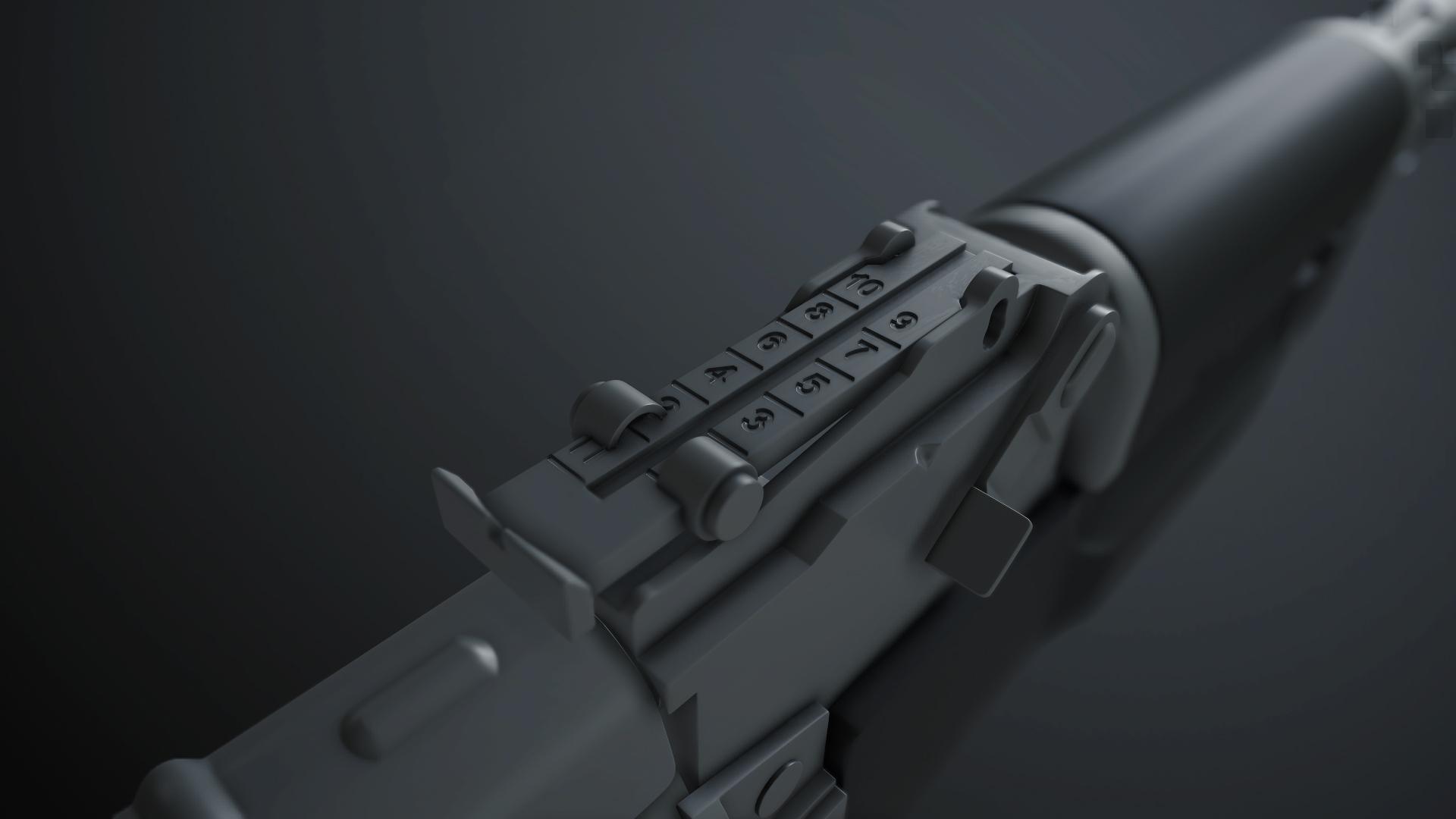 Ak-47 Rear sight