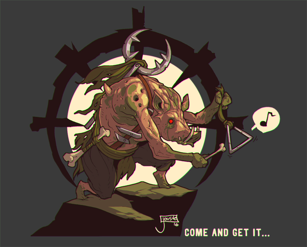 Come and get it! Darkest Dungeon