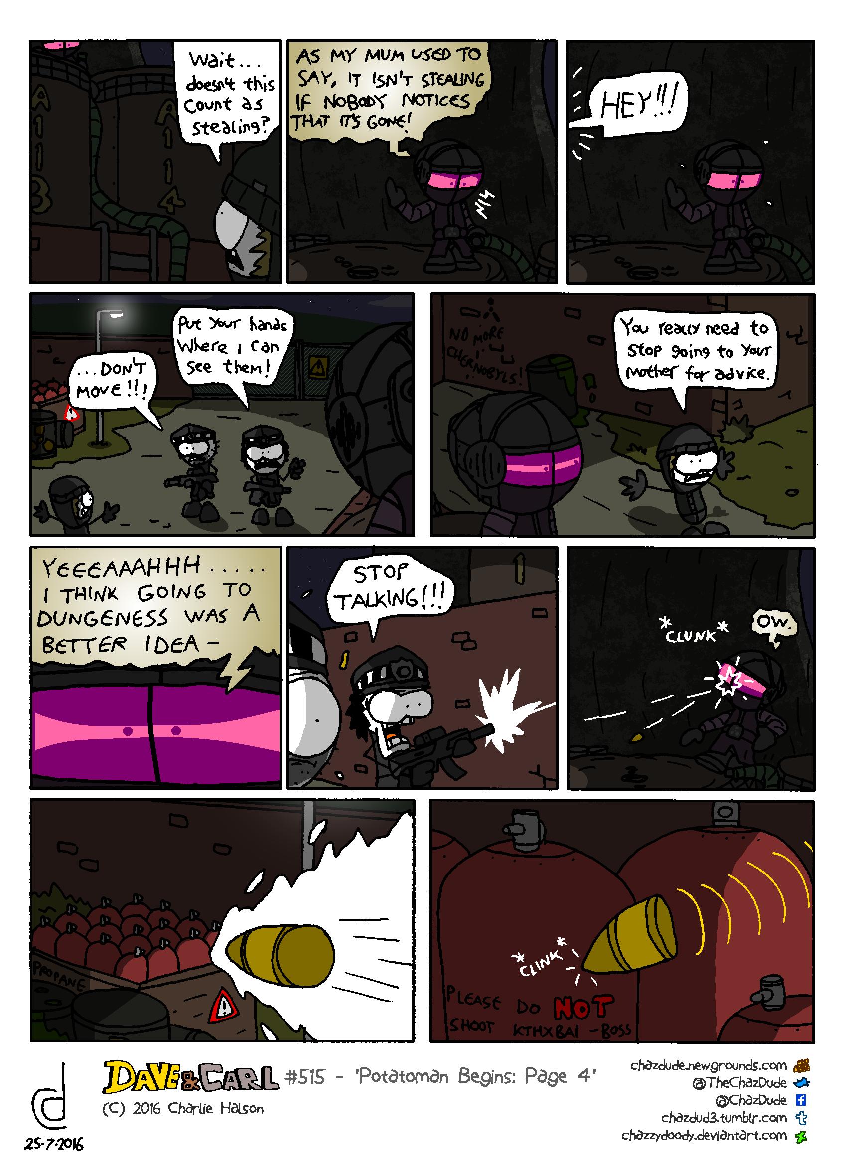 Potatoman Begins: Page 4