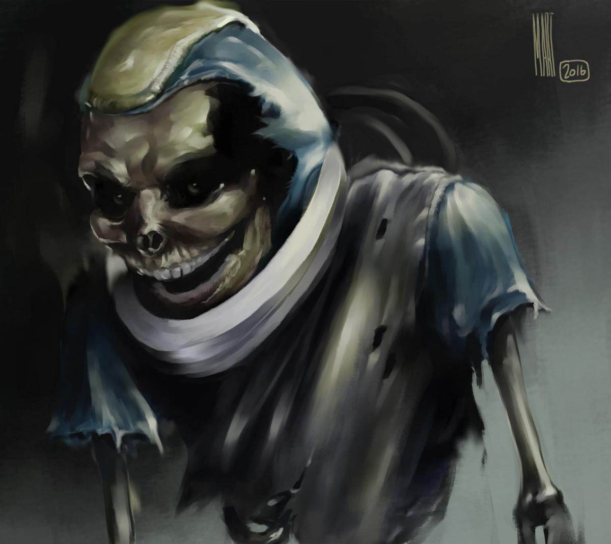 SPEEDPAINT something creepy| Krita 3.0