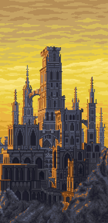 that castle from dark souls 2