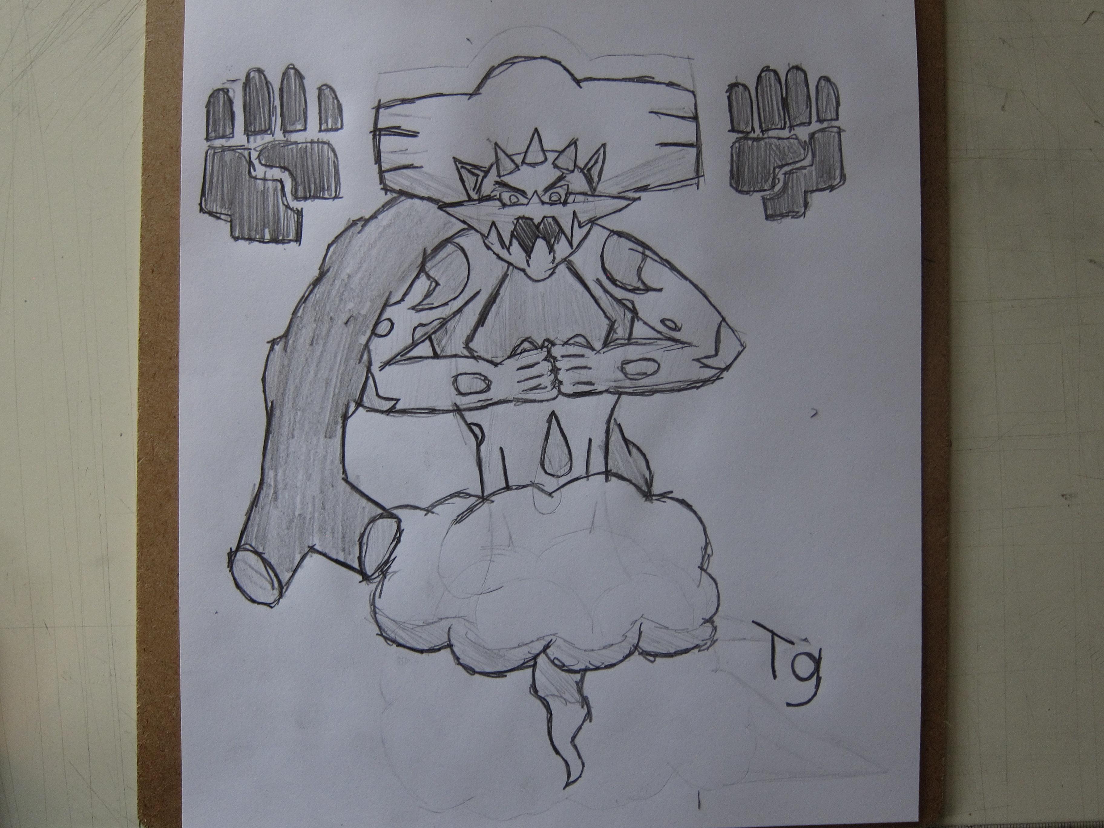 landorus drawing