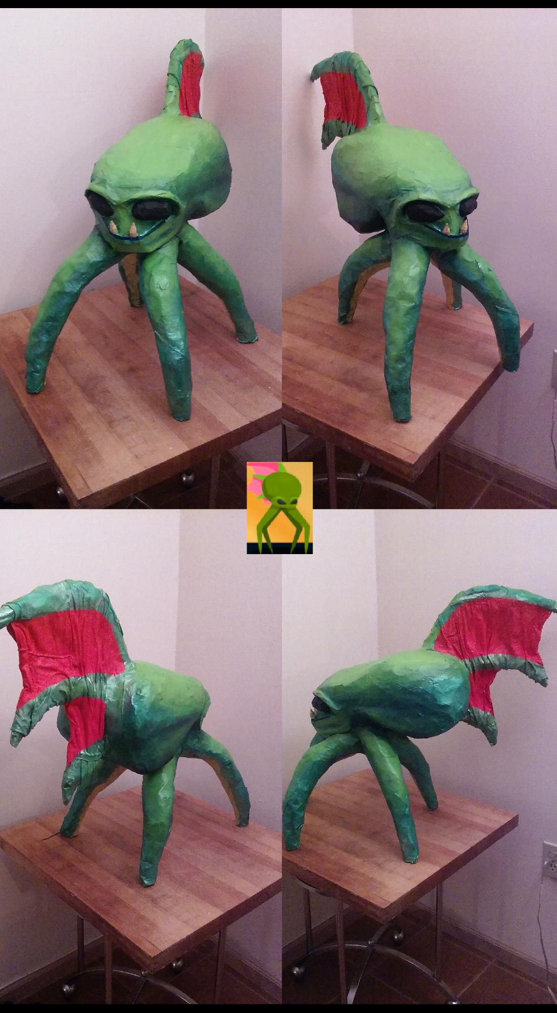 ASTROCREEP concept statue 2