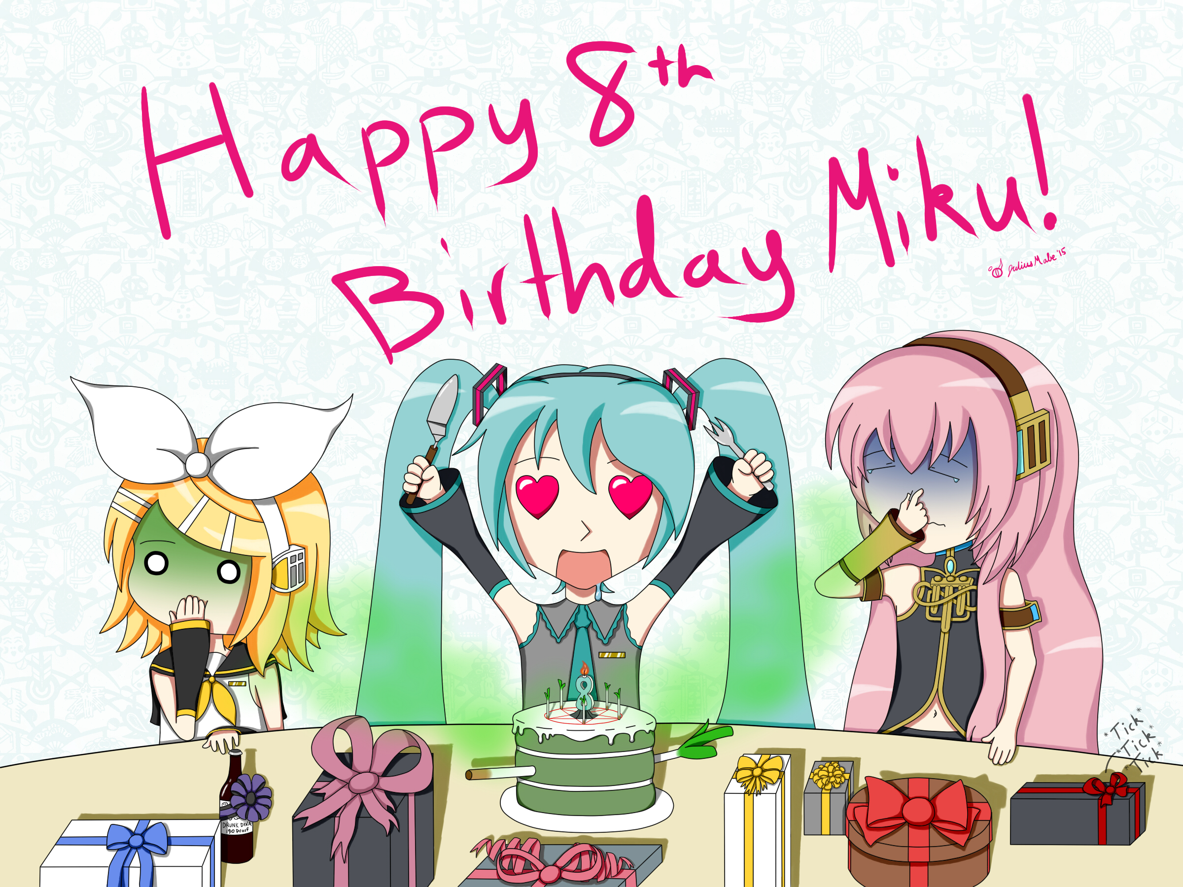 Miku 2015 Birthday