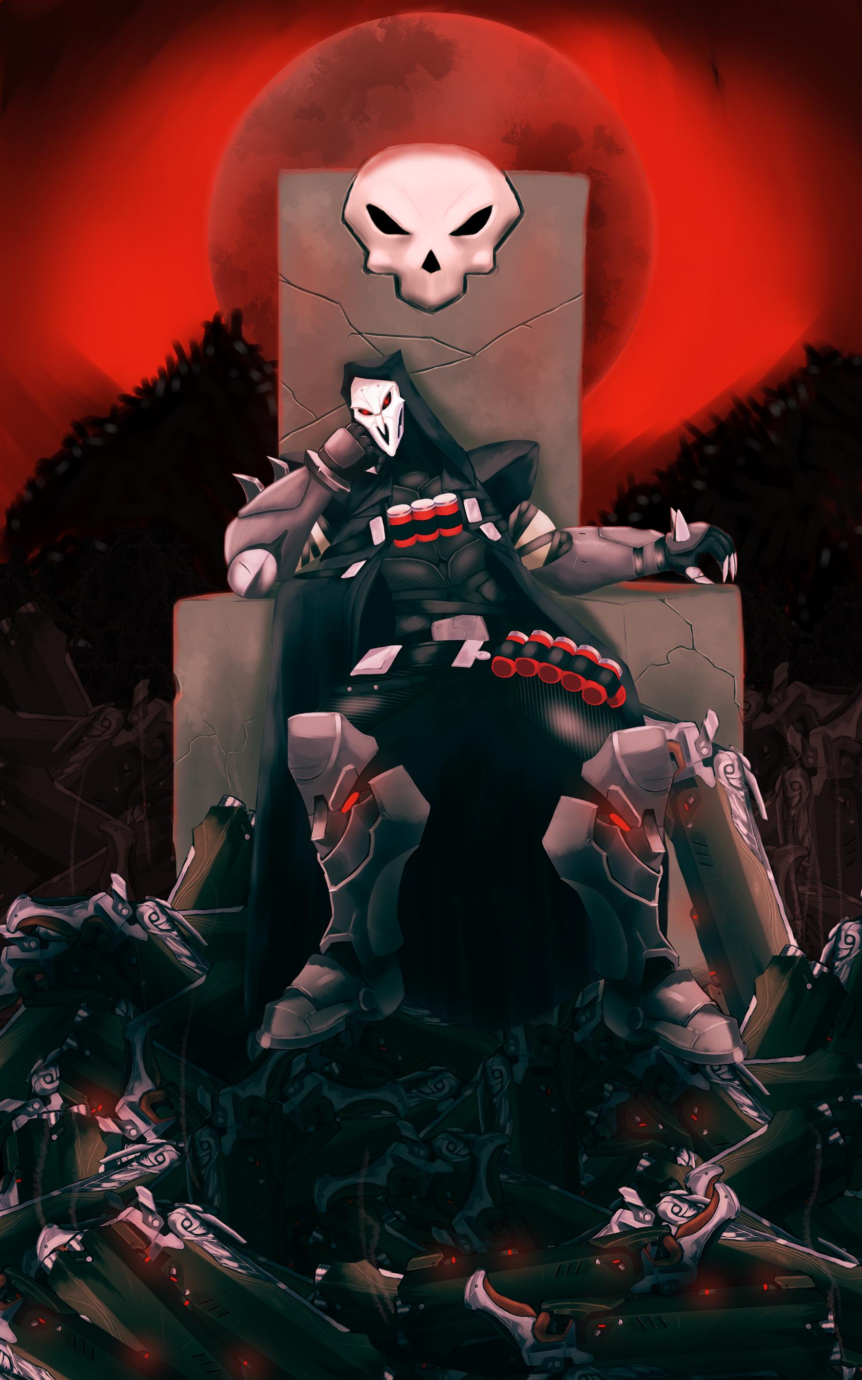Reaper's Gun Throne