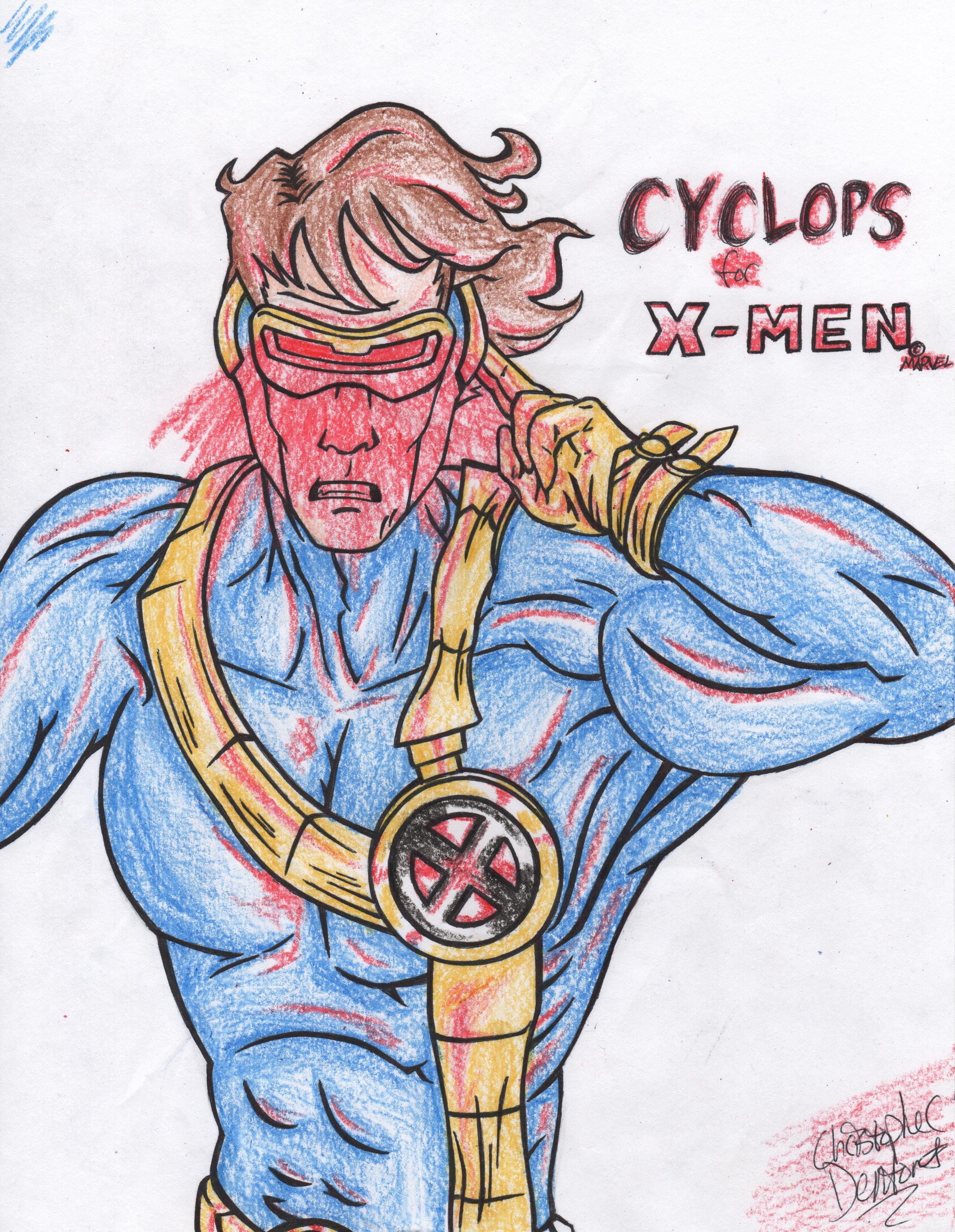 Cyclops from X-Men (Commission)