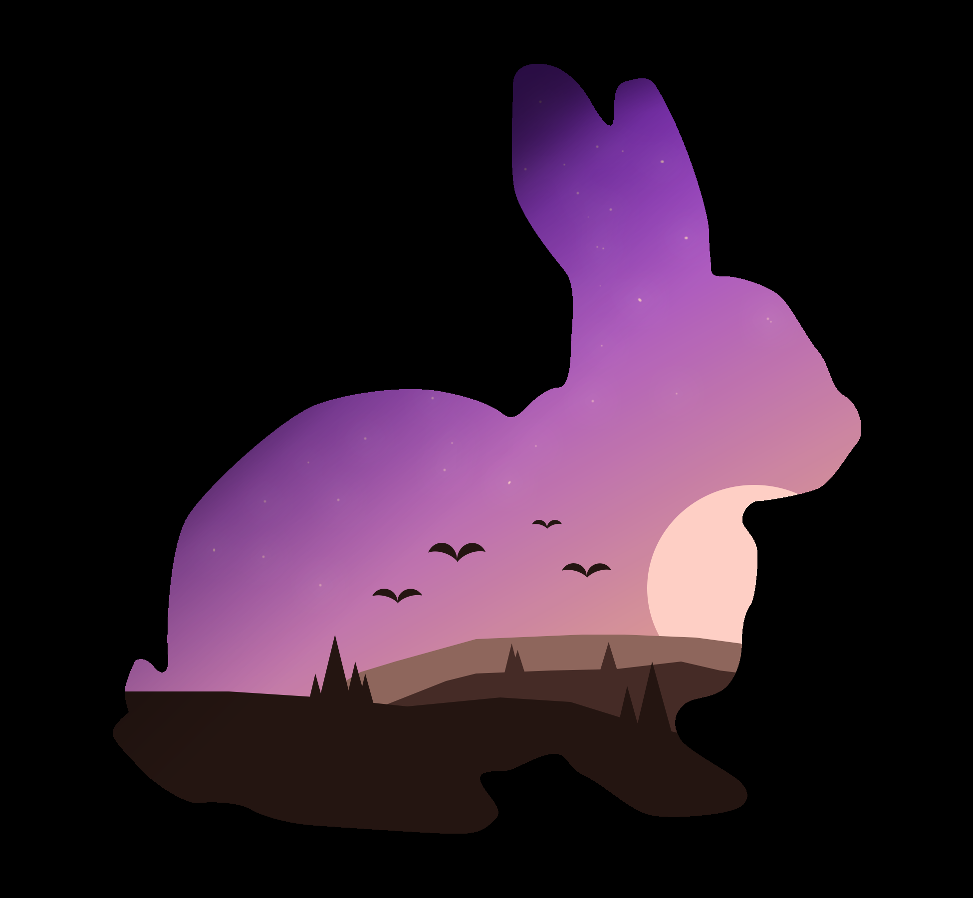 Rabbit Landscape