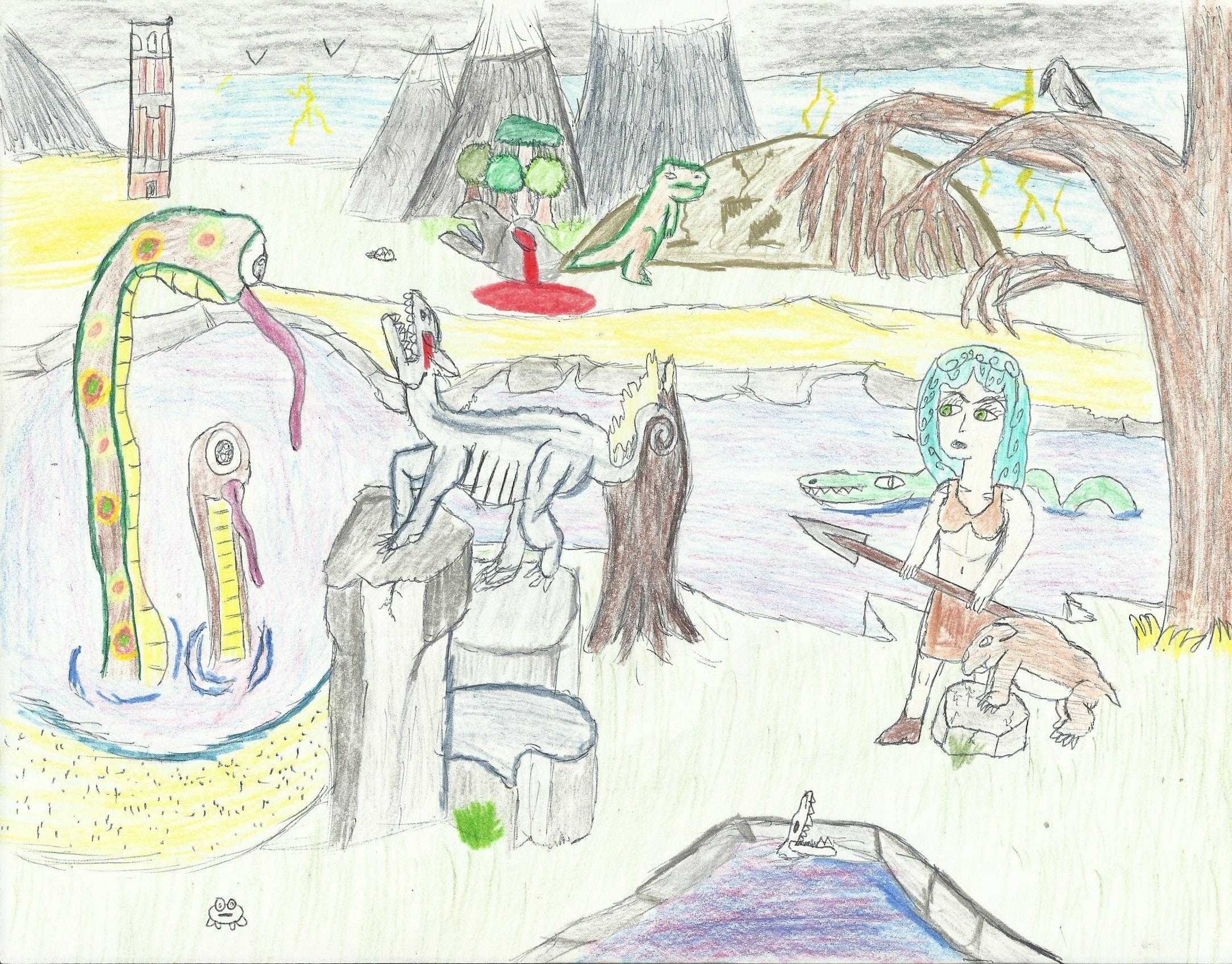 Lana On the Prehistoric Planet 6/09