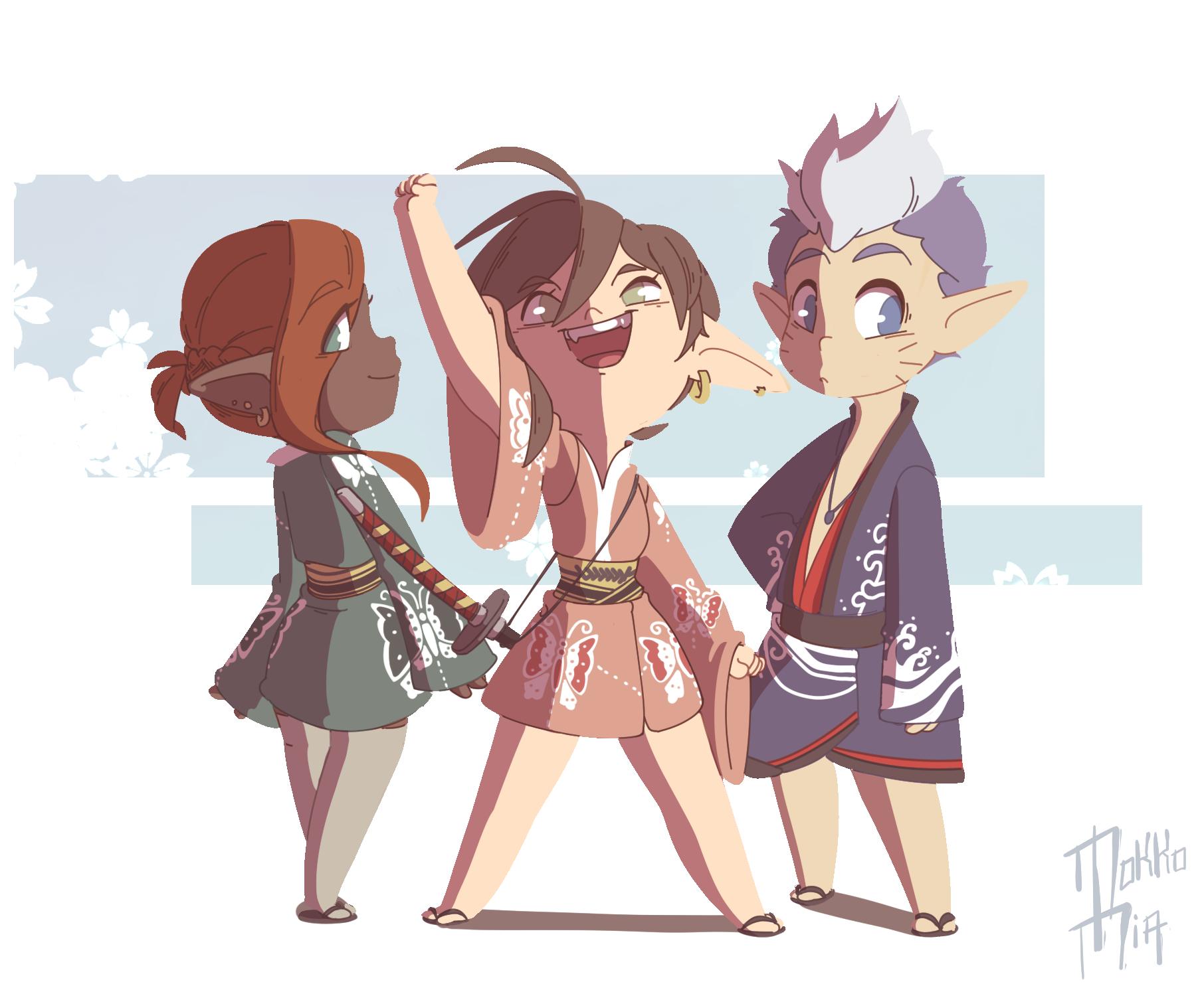 Kimono Gang