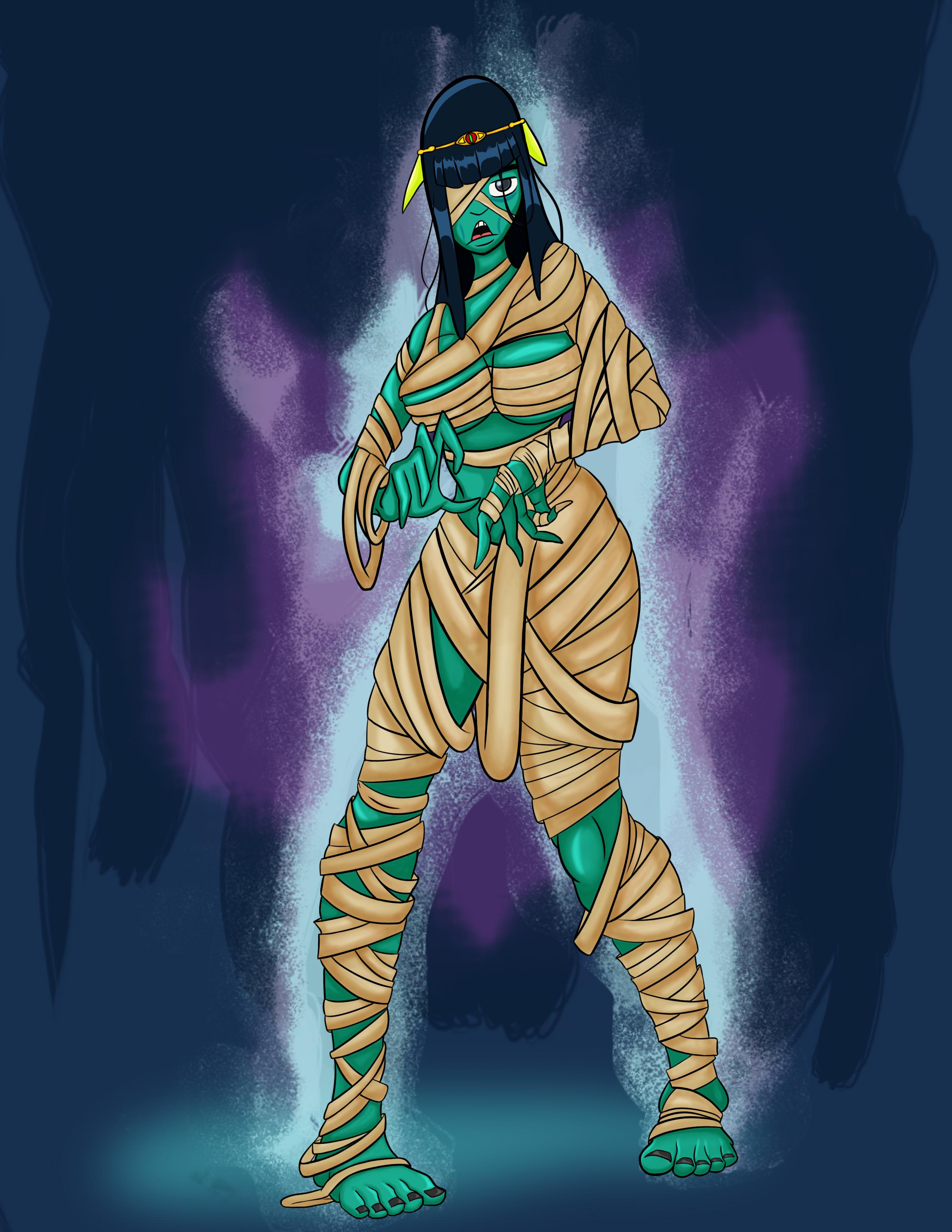 Mimi the mummy