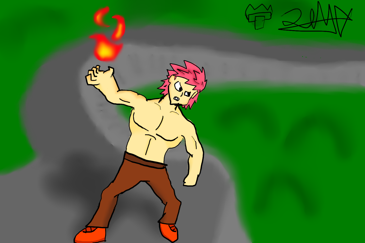 FIRE GUY THE FLAME SLY