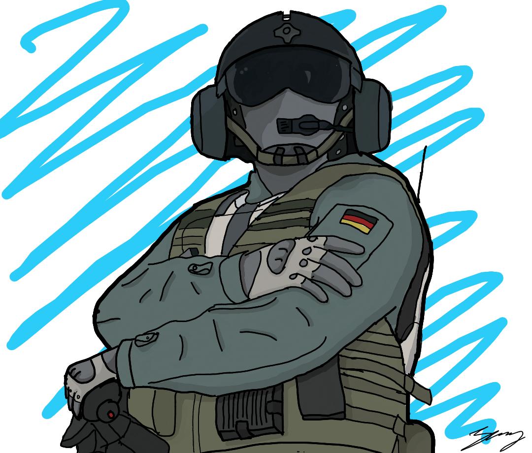Jäger : Rainbow Six Siege