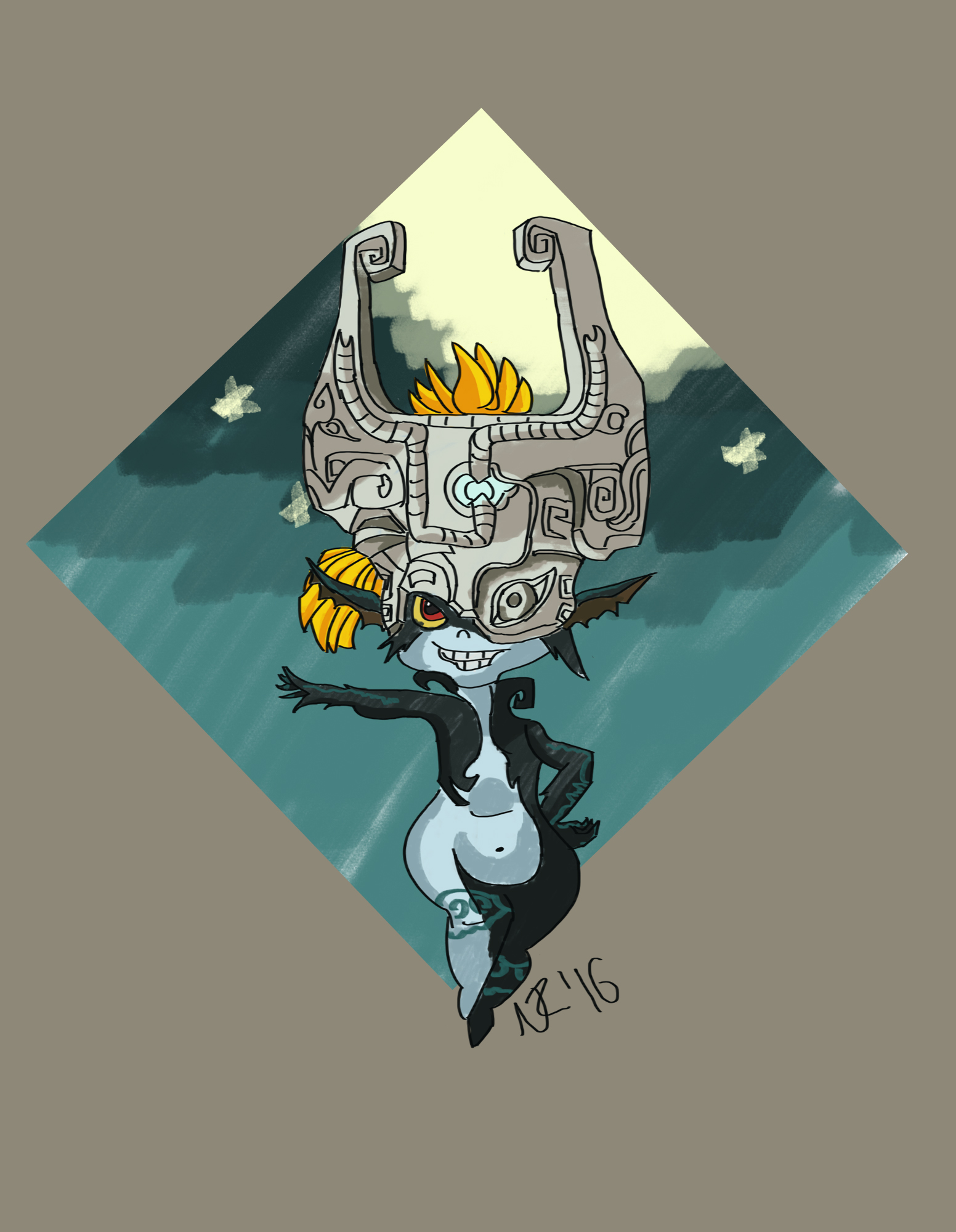Midna (LoZ Twilight Princess)