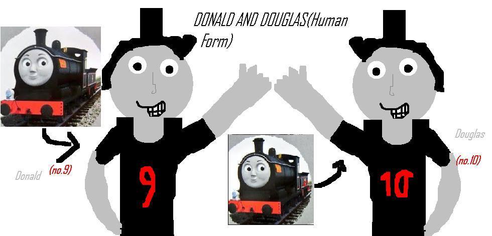 Donald And Douglas(Human Form)