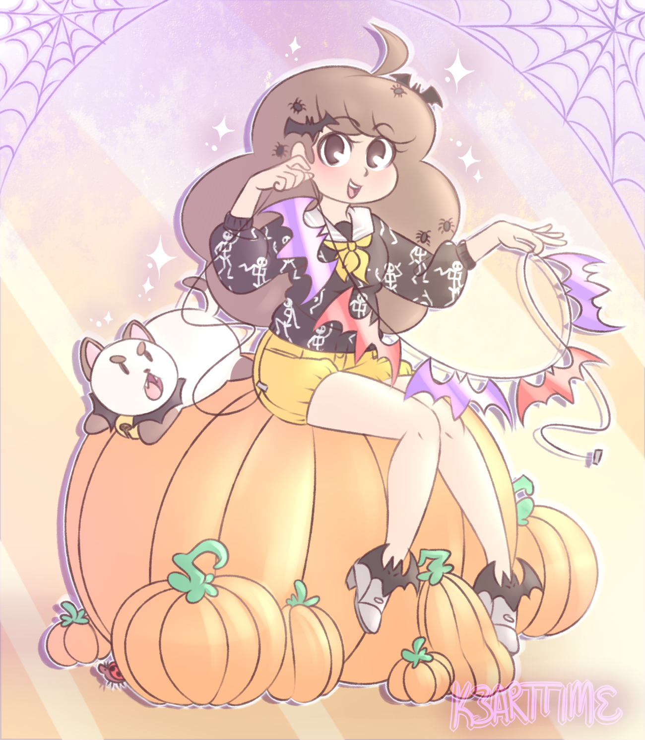Bee & Puppycat Halloween