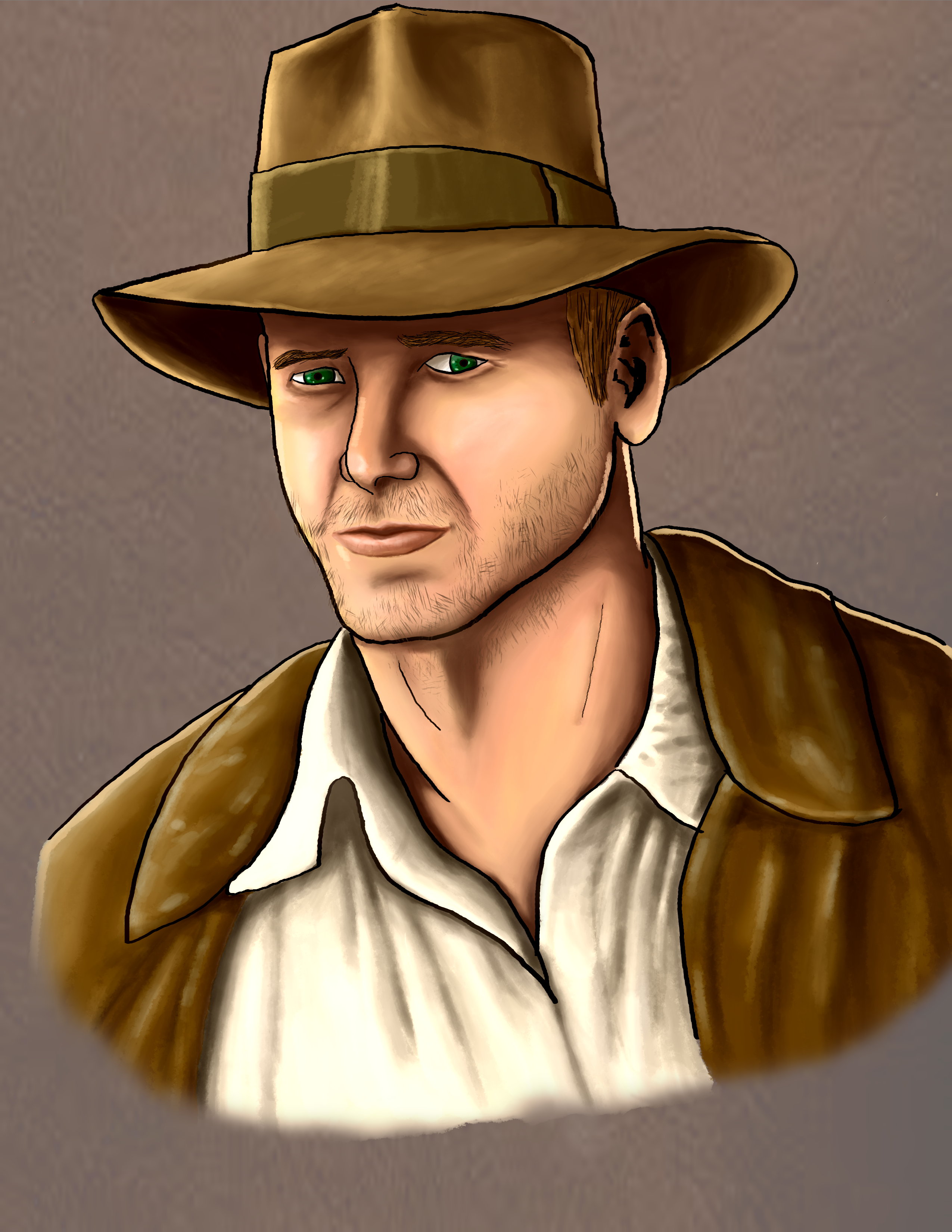 Harrison Ford as Indianna Jones