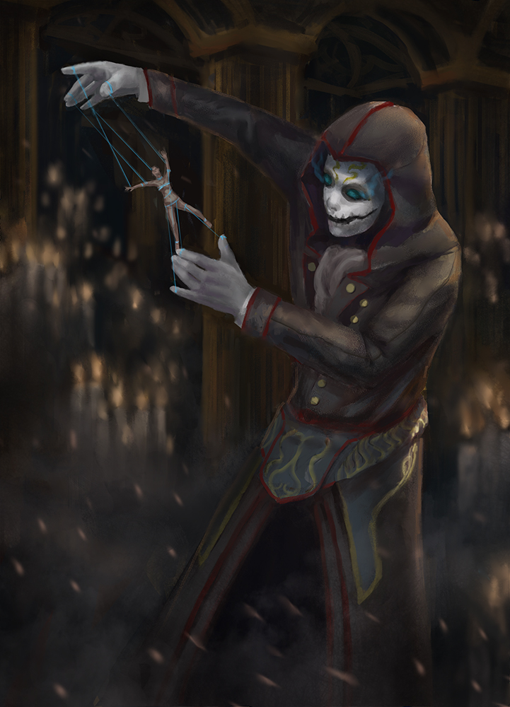 The voodoo priest