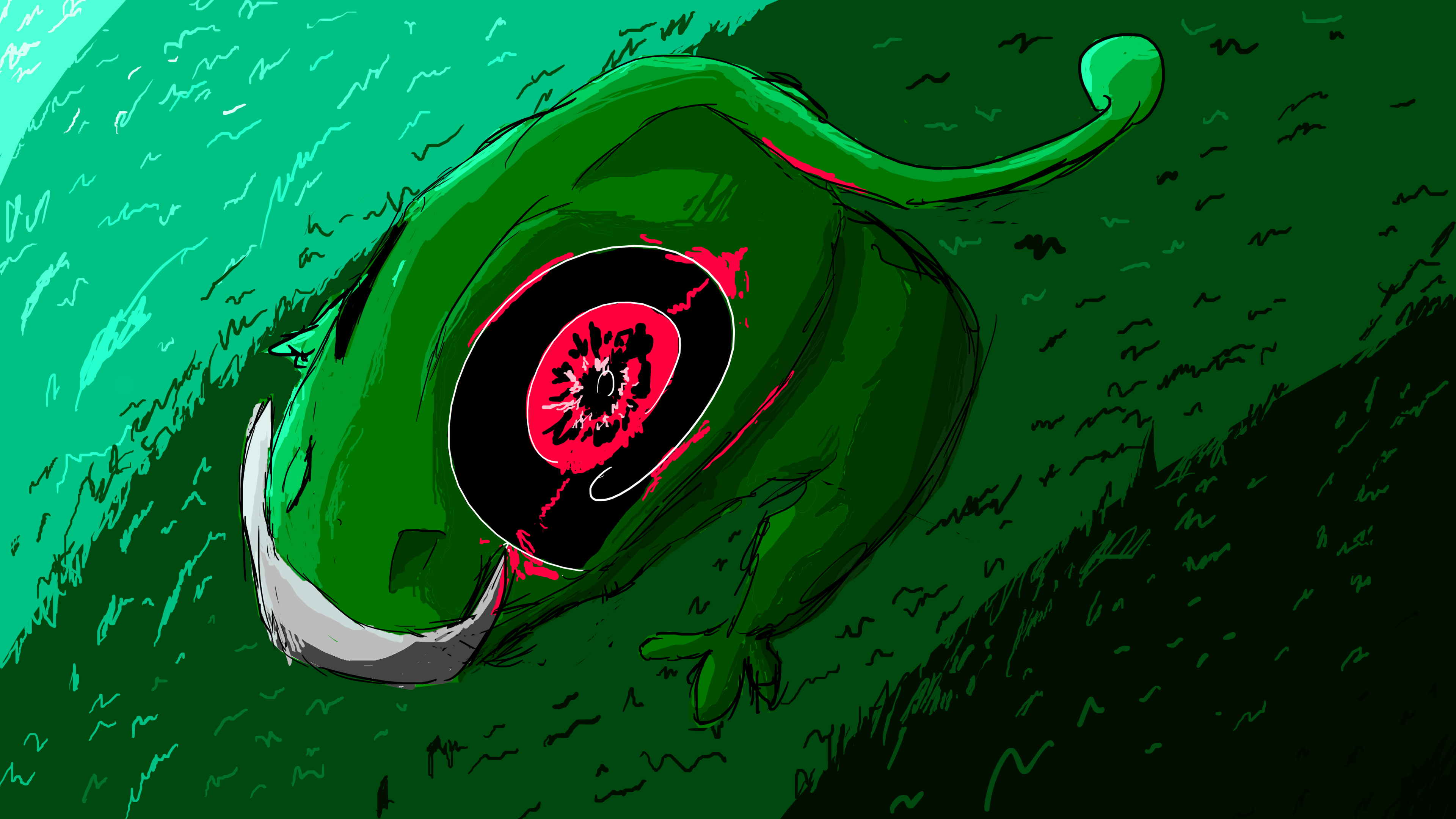 The Elusive Handless Cannibal Frog