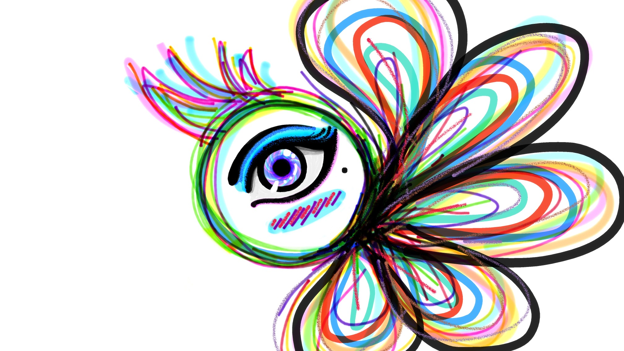 The great colorful eye