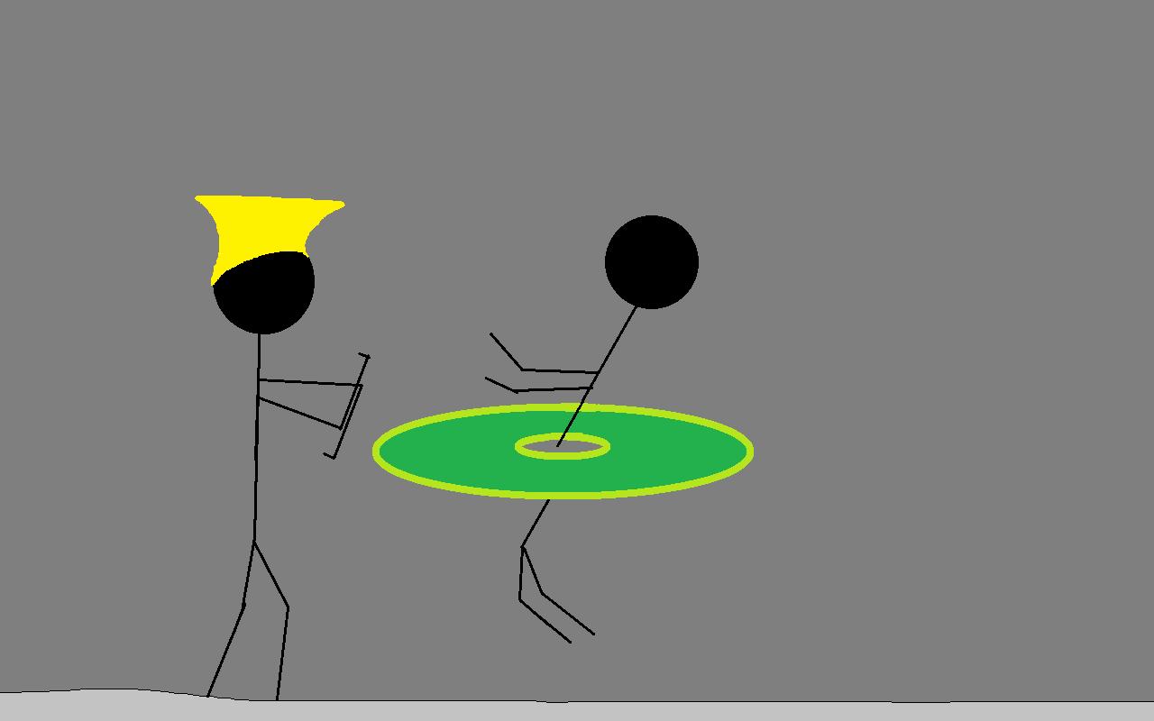 Stick Figure Sonic Hurricane