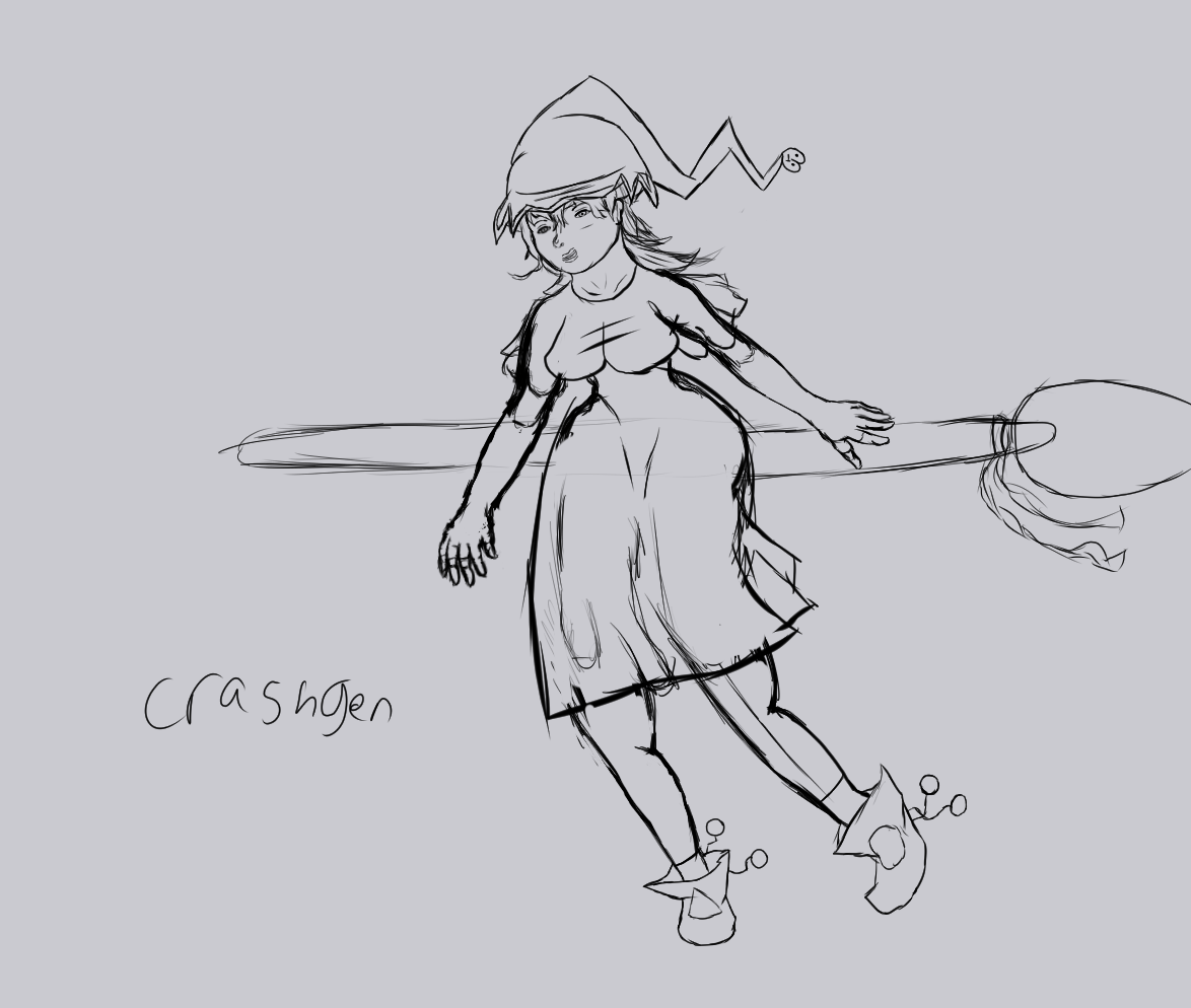 witch sketch