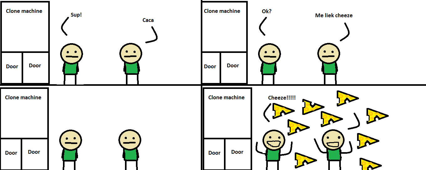 My first Cyanide & Happiness comic strip