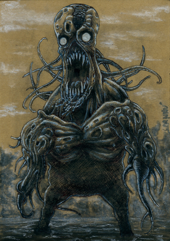 Halloween Daily monster #22