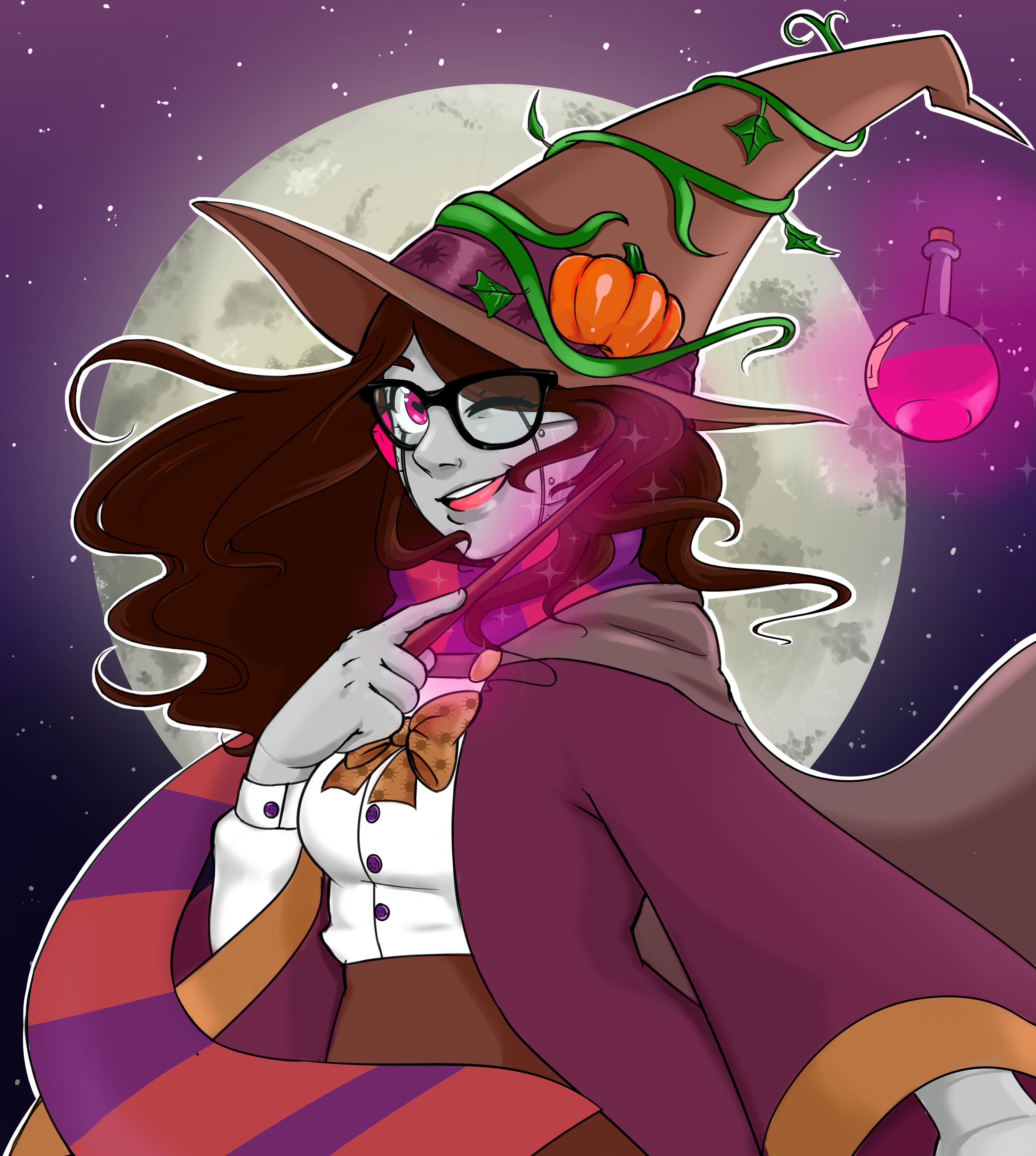 Halloween witch OC